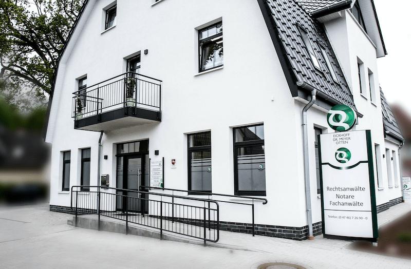 Kanzleigebäude Eickhoff - Meyer - Otten